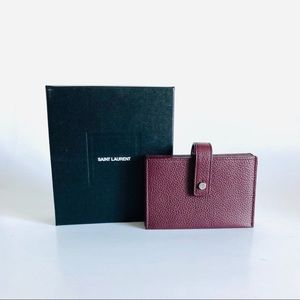 AUTHENTIC YSL CARDHOLDER WALLET
